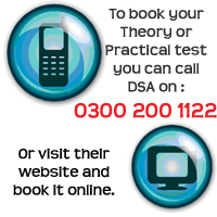 Book your driving test Leicester
